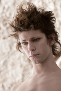 Here's a photo of the talented Ben Whishaw as Ariel from 'The Tempest.' This superb actor would be my first choice to play Rowan Blaize, if dreams came true ... quickly.