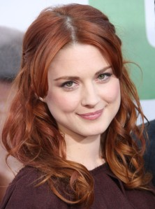 The gifted Alexandra Breckenridge would be ideal to play the role of Rowan's constant companion, Miranda, as described in the novel 'Rowan Blaize and the Hand of Djin Rummy.' To me, she exudes a natural charm suited to the nature of Rowan's mortal changeling pal.