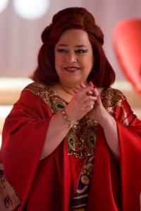 "In a million universes I could not think of a better actor to play ""Auntie Ariadne"" than the great Kathy Bates. This photo of Kathy playing the Queen of Hearts exhibits some of the traits I would envision Aunt Ariadne to possess ... in spades."