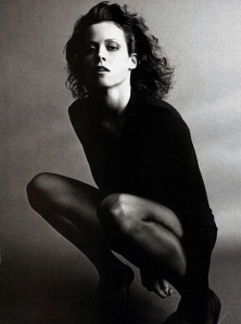 The great Sigourney Weaver has the chops and the cheekbones to play an icy goddess, indeed.