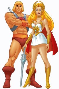 He-Man and She-Ra ... Padding the bank accounts of psychologists specializing in Body Dysmorphic Disorders since the 1980s!