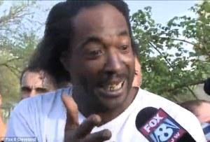 """I love tasty burgers, but my heart says, 'NO!' "" (photo: Cleveland Fox news 8)"